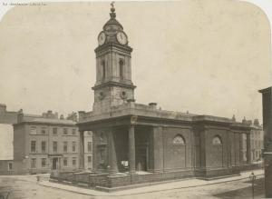 St. Peter's Church, date unknown, taken by W. H. Fischer (Source: Manchester Image Library, Manchester City Council http://images.manchester.gov.uk)