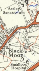 Map of Astley, 1936 (Source: www.oldmapsonline.org)
